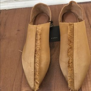 Satin Slippers size 7.5